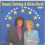 1990 Dennie Christian & Micha Marah, Europe together.jpg